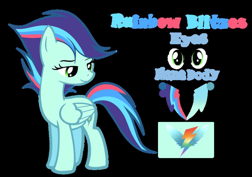 MLP [Next Gen] Rainbow Blitzes by VelveagicSentryYT