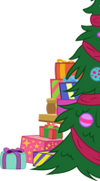 MLP FiM Vector #1 Christmas tree