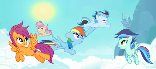 MLP [Next Gen]  Fly away with me