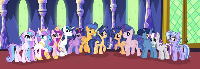 MLP [Next Gen] The Sparkle  Family