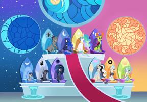 MLP [Next Gen] Sun and Moon royalty