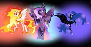 MLP The dark side of princesses