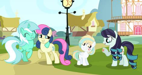 MLP [Next Gen] Lyra Heartstrings X Sweetie Drops