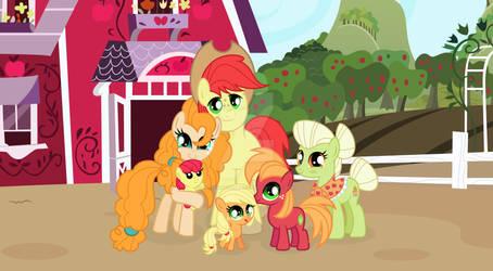 MLP Cute Apple Family