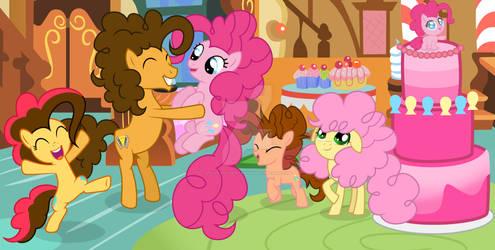 MLP [Next Gen] Pinky's birthday