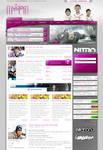 Modern Gaming Webdesign