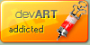 devART addicted icon CONTEST by razr-designs