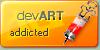 devART addicted icon CONTEST by razr-designs