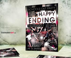 The Happy Ending - Flyerdesign by razr-designs
