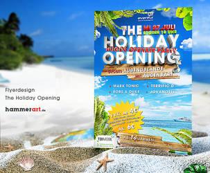Holiday Opening - Flyerdesign by razr-designs