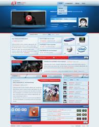 HypeGaming - eSport Webdesign by razr-designs