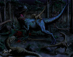 Midnight Onslaught by Jujusaurus