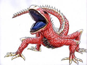 Gore Lizard by Jujusaurus