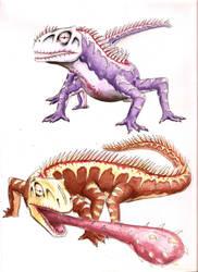 Mega Chameleon by Jujusaurus