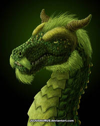 Earth Dragon by Jujusaurus