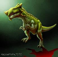 Fantasy Dino 1 by Jujusaurus
