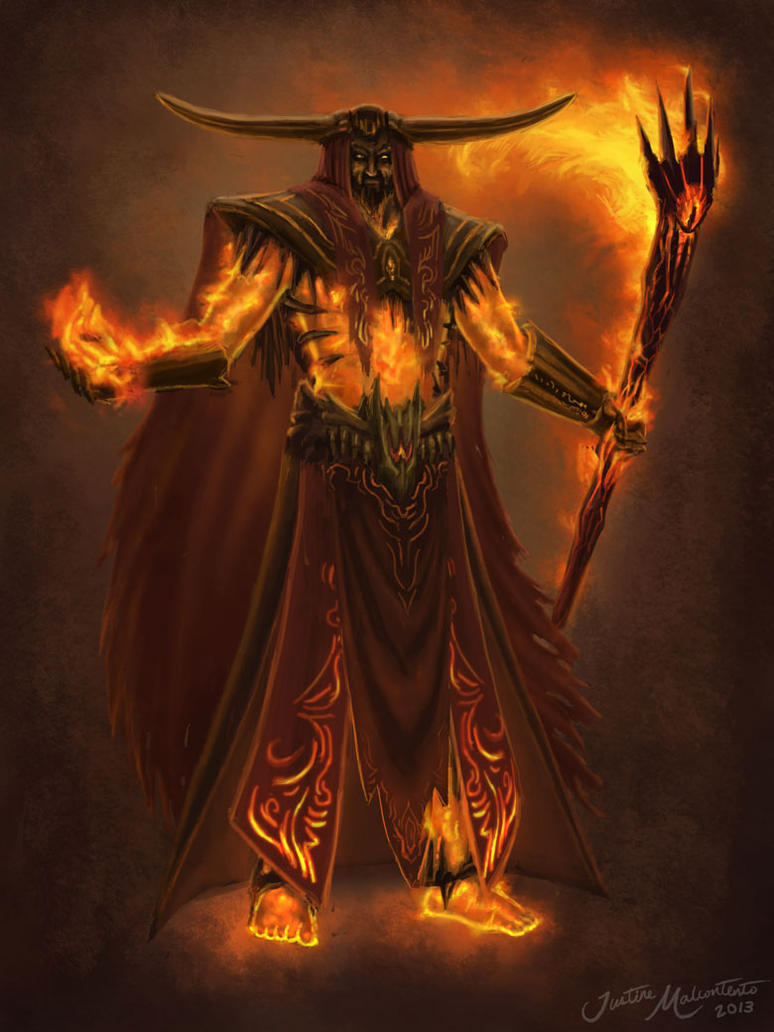 Fire Sorcerer By Jujusaurus On Deviantart