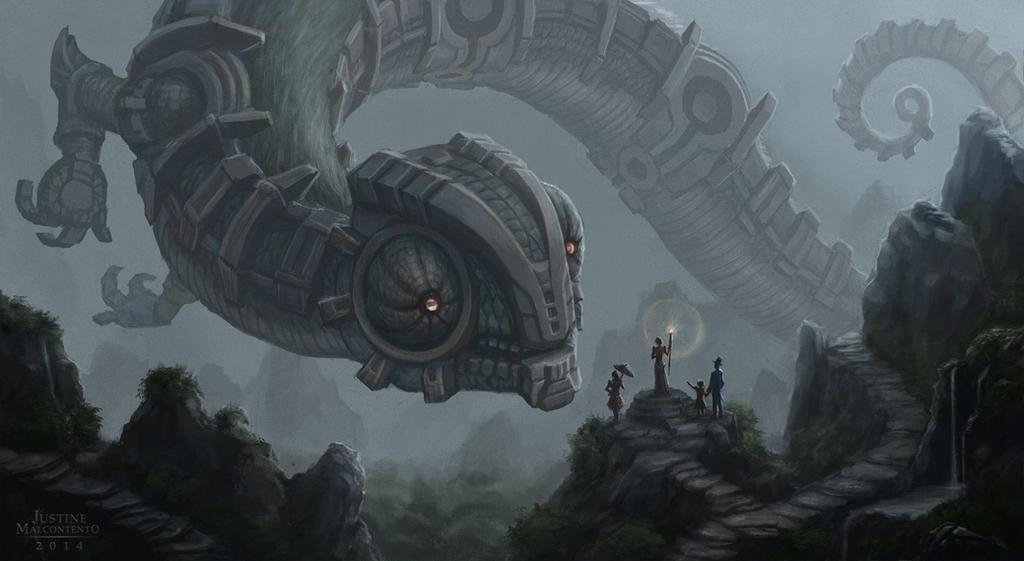 Ancient Mist Dweller by Jujusaurus
