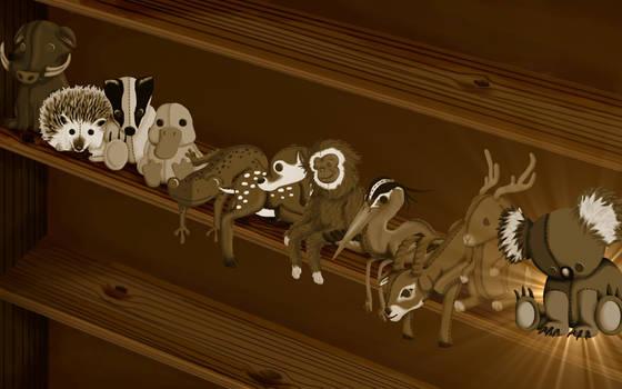 Karmic Koala Wallpaper