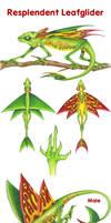 Resplendent Leafglider by icantthinkofaname-09