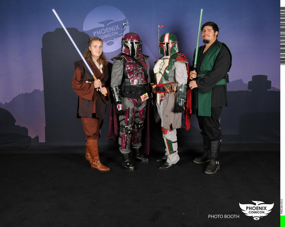 Mandalorians and Jedi by icantthinkofaname-09