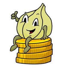 Garlicoin Mascot