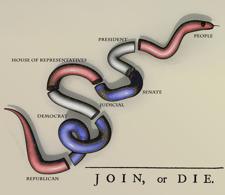 Join or Die 2.0 by ElizabethBarndollar