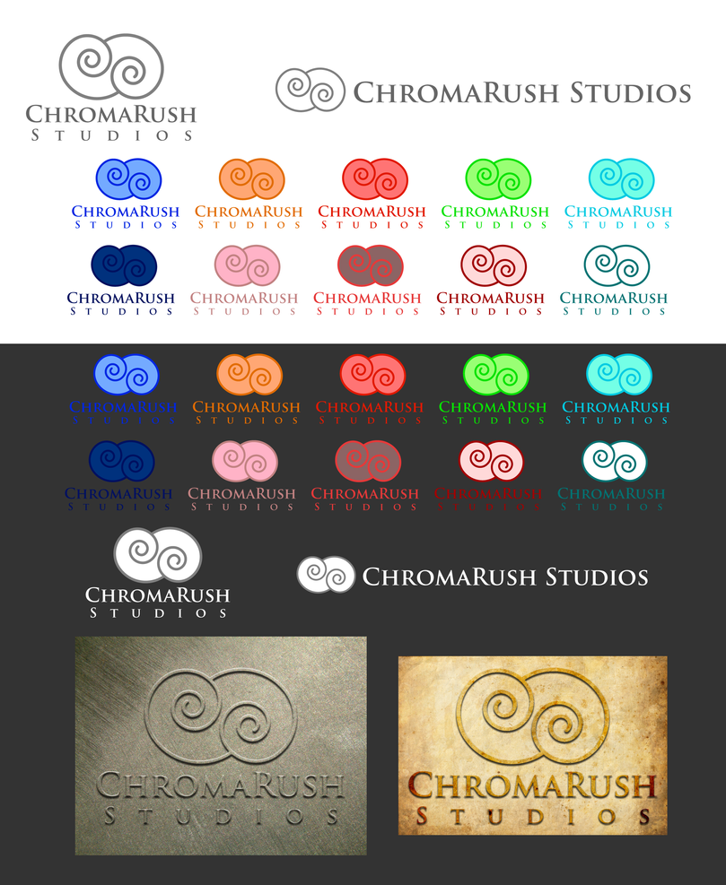 ChromaRush Studios Logo by ElizabethBarndollar