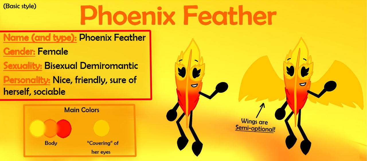 MAIN OC - Phoenix Feather | Ref. (BASIC STYLE)