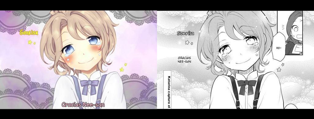Color vs Manga: Keith by Estefania-C