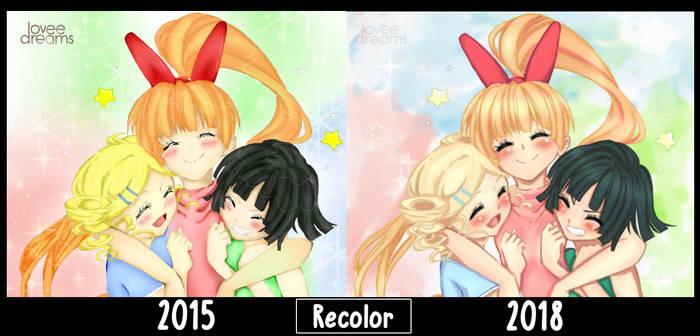 Las chicas super poderosas Z - Color [2015 - 218] by Estefania-C