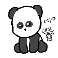 Panda by Dino5tee