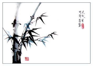 Bamboo by xocieira