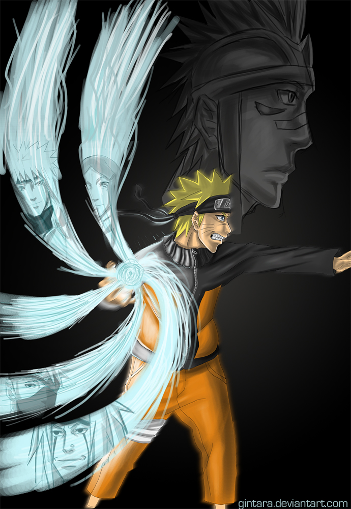 Request: Naruto poster by Gintara