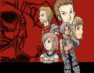 Final Fantasy XII by Gintara