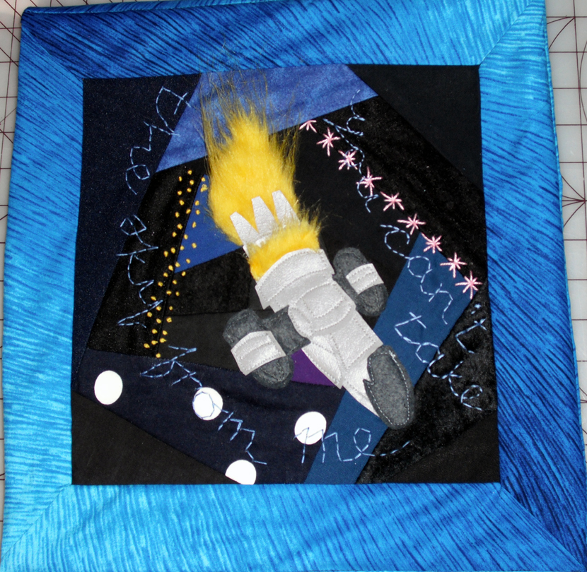 Space fandom quilt firefly by ablesistersfancrafts on for Spaceship quilt