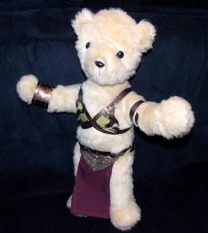 Slave Leia Bear
