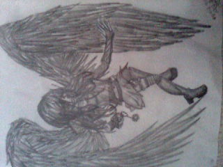 Fallen Angel by Grotesque-Things