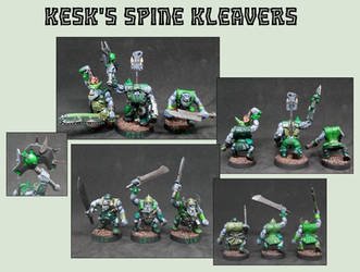 Kesk's Spine Kleavers