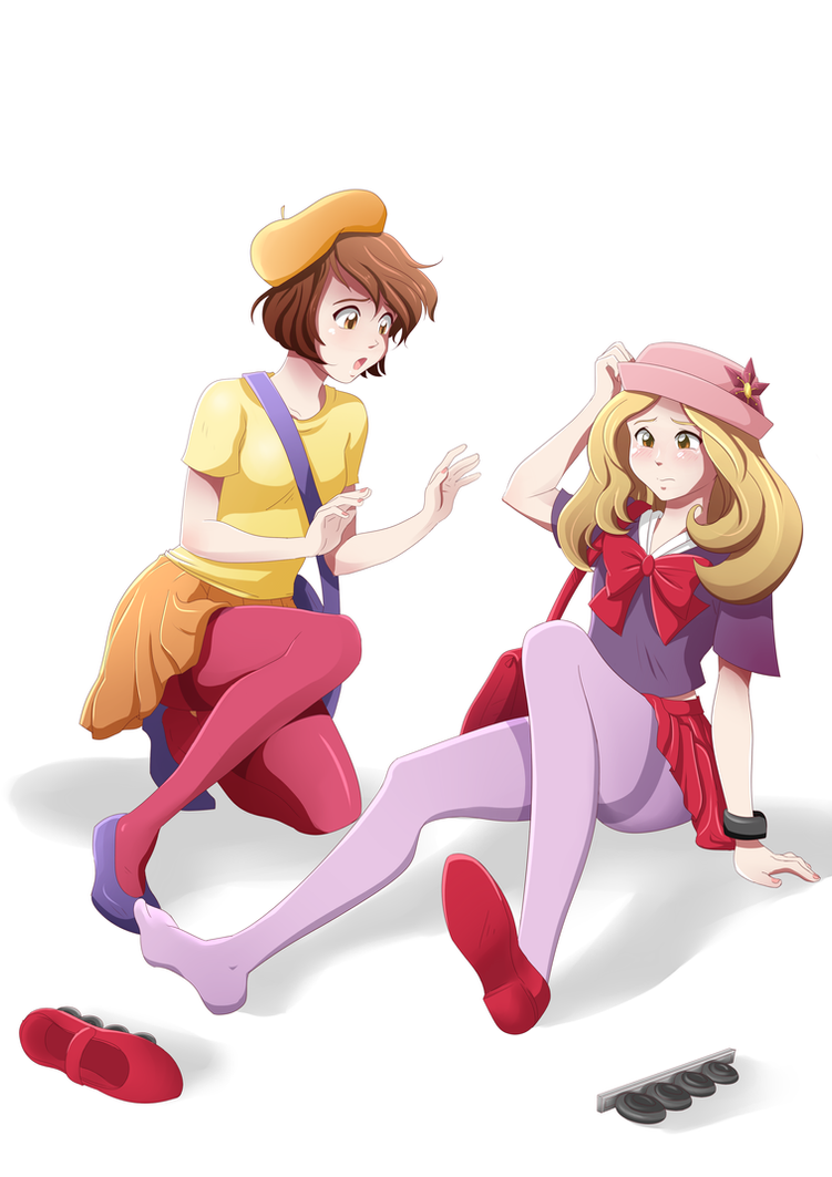 Clumsy Trainer by Apple-Cake