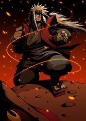 NARUTO:Jiraiya by GODTAIL