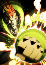 DRAGONBALL:Android 16 by GODTAIL
