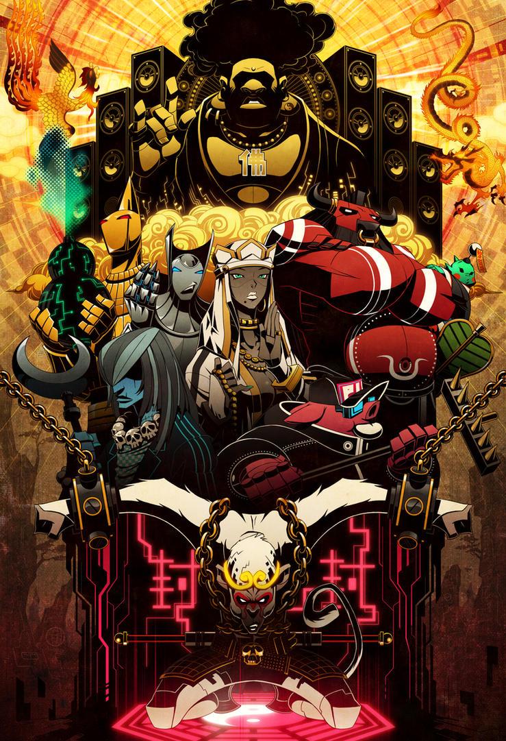 Monkey Magic by GODTAIL