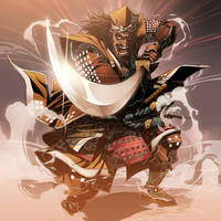 samurai by GODTAIL