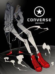 CONVERSE ALL STAR by GODTAIL