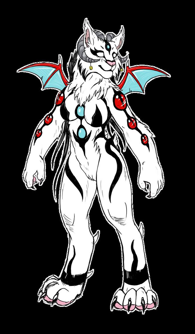 Lynx anthro by MAKATAKO
