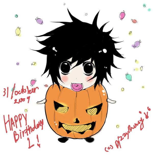 Happy Birthday L by kawaiiCuppyCakeDesu