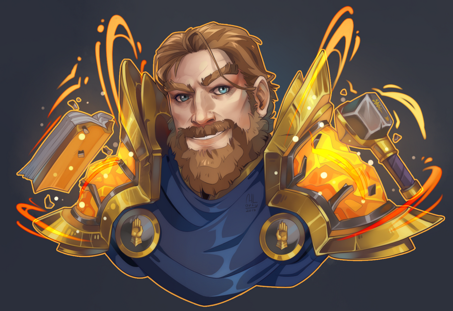 WoW commission by MLarty