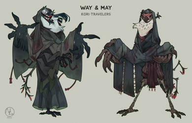 Way and May by MLarty