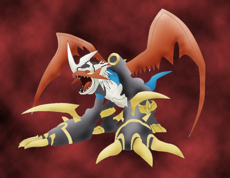 Imperialdramon Dragon Mode by Danetia on DeviantArt